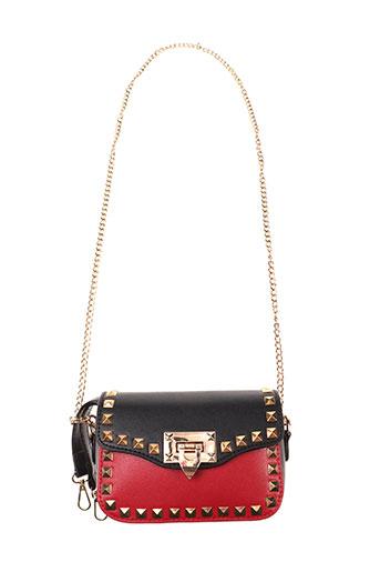 jasmin noir accessoires femme de couleur rouge