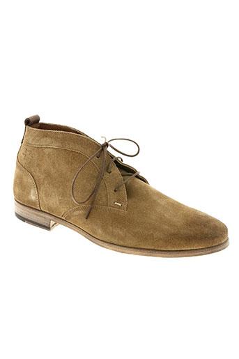 kost chaussures homme de couleur beige