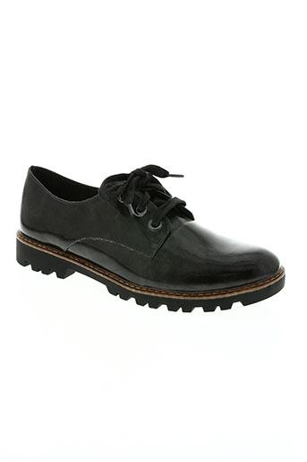 tamaris chaussures homme de couleur noir
