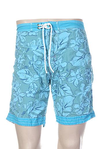 arthur maillots de bain homme de couleur bleu