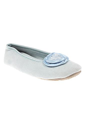 Chaussons/Pantoufles bleu LA FIANCEE D'ARTHUR pour femme