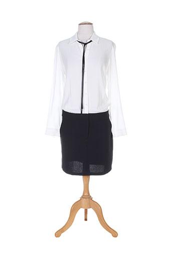 mamouchka robes femme de couleur blanc