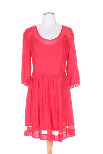 Robe courte rouge FREE MINDS.. pour femme