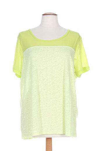 carmen t-shirts femme de couleur vert