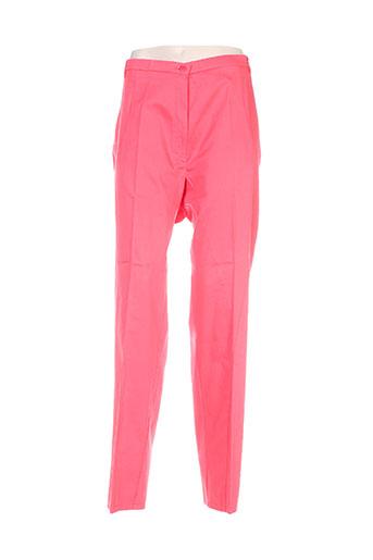 jean gabriel pantalons femme de couleur rose