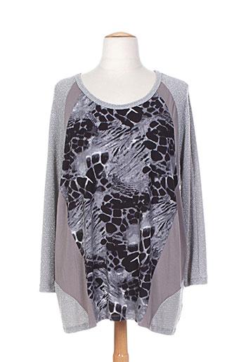 x-two chemises femme de couleur gris