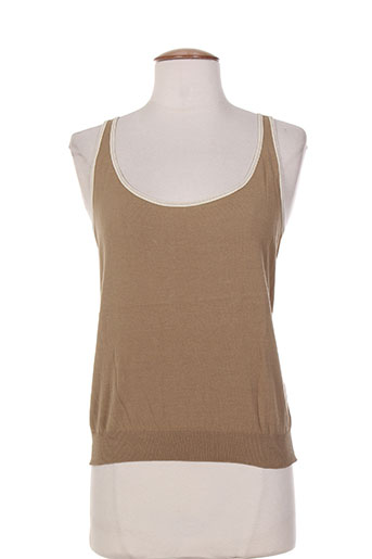 paule ka chemises femme de couleur marron
