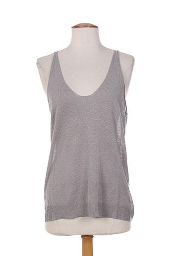 ernest chemises femme de couleur gris