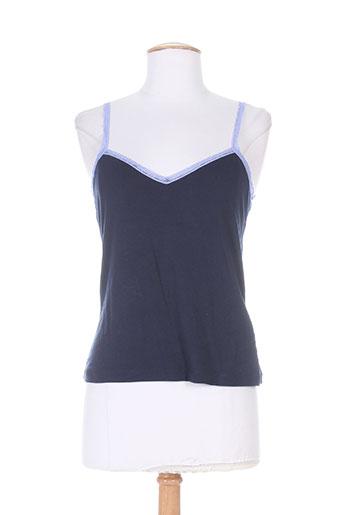 ernest chemises femme de couleur bleu