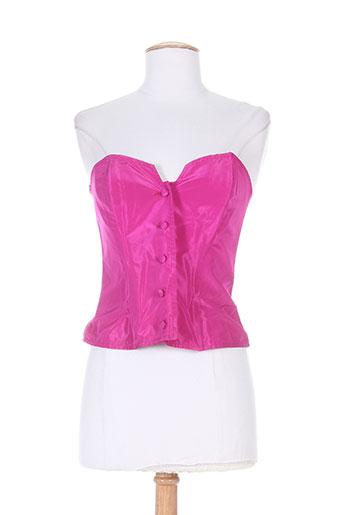 canotier chemises femme de couleur rose