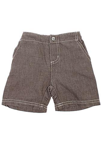 petit bateau shorts / bermudas garçon de couleur gris
