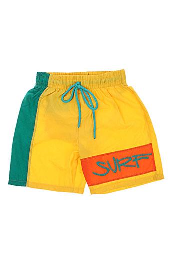 gemelli maillots de bain garçon de couleur jaune