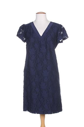 marella robes femme de couleur bleu