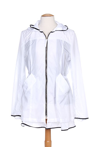 marella manteaux femme de couleur blanc