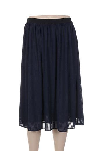 marella jupes femme de couleur bleu