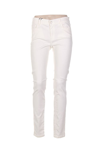 Pantalon casual blanc MARELLA pour femme