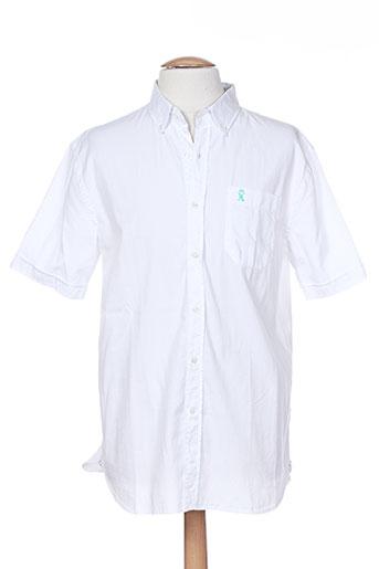 vicomte arthur chemises homme de couleur blanc