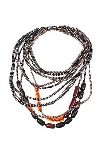 maxmara bijoux femme de couleur marron