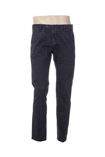 exibit pantalons homme de couleur gris