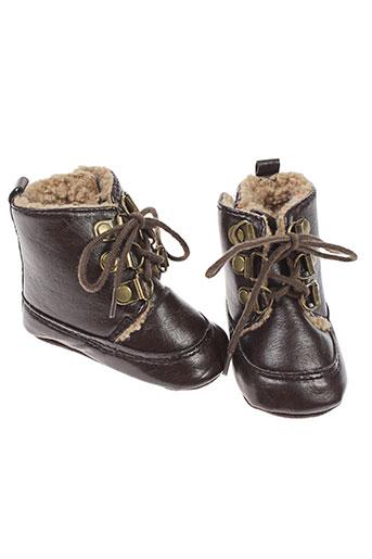 absorba chaussures garçon de couleur marron