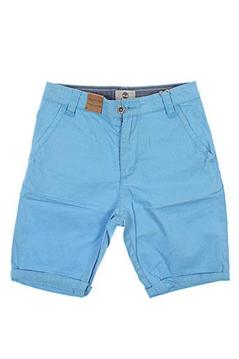 timberland shorts / bermudas garçon de couleur bleu