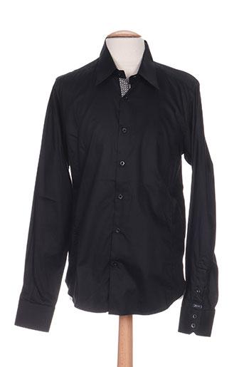 joe retro chemises homme de couleur noir