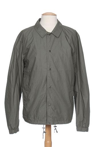 selected vestes homme de couleur vert