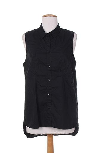 ltb chemises femme de couleur noir