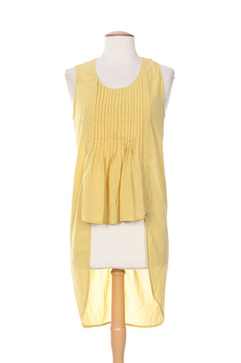fornarina tuniques femme de couleur jaune
