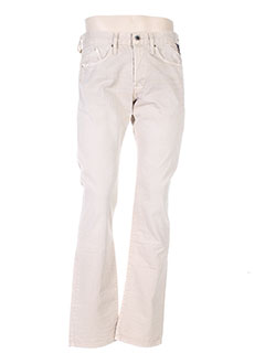 Pantalon casual beige REPLAY pour homme