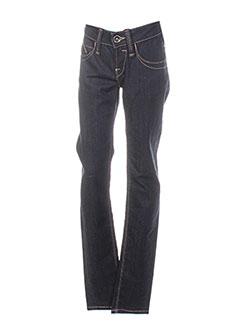 Jeans coupe slim noir FORNARINA pour femme