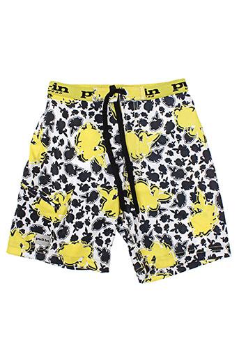pull in maillots de bain garçon de couleur jaune