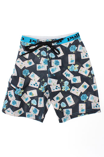 pull in maillots de bain garçon de couleur bleu