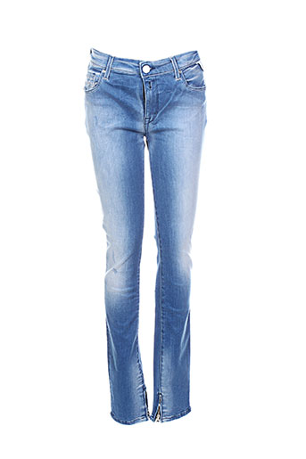 replay jeans femme de couleur bleu