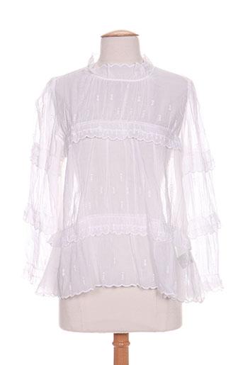isabel marant chemises femme de couleur blanc