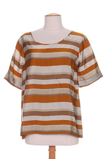 chloé stora chemises femme de couleur marron