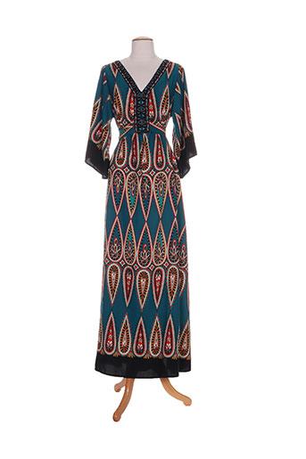 free for humanity robes femme de couleur bleu