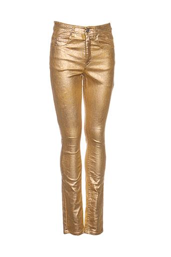 Pantalon casual jaune ISABEL MARANT pour femme