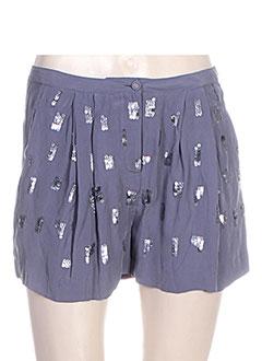 Produit-Shorts / Bermudas-Femme-HOSS