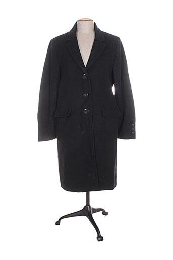 femmes je vous aime manteaux femme de couleur noir