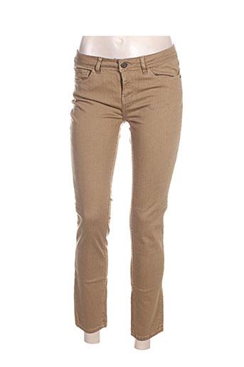 lab(dip) jeans femme de couleur vert