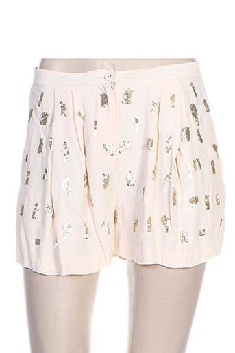 hoss shorts / bermudas femme de couleur rose