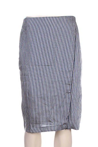 Jupe mi-longue bleu CHLOÉ STORA pour femme