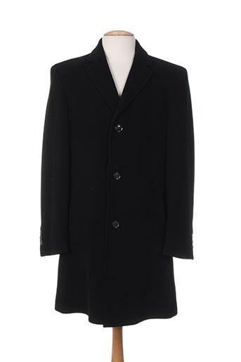 stones manteaux homme de couleur noir