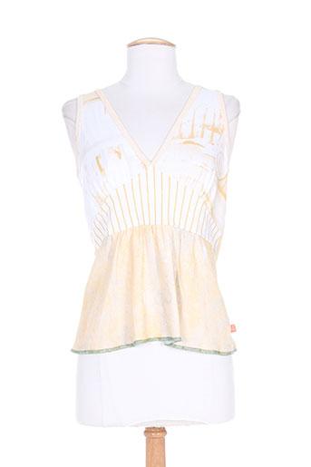 cheyenne t-shirts femme de couleur beige