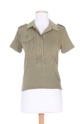 murphy EFFI_CHAR_1 nye t-shirts femme de couleur vert