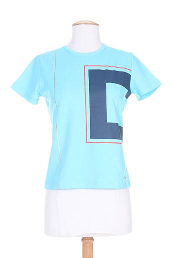 cheyenne t-shirts femme de couleur bleu