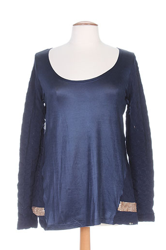 akela key chemises femme de couleur bleu