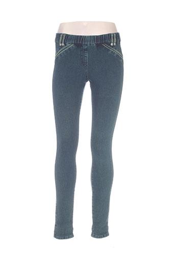 legzskin jeans femme de couleur bleu