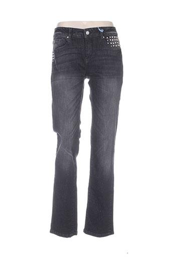 esprit jeans femme de couleur noir